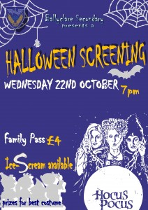 Halloween Film Event