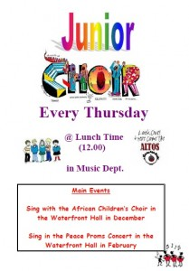 Junior Choir Poster