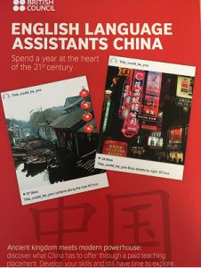 English Language assistants china