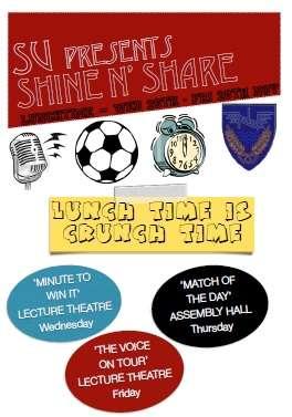 SU shine poster