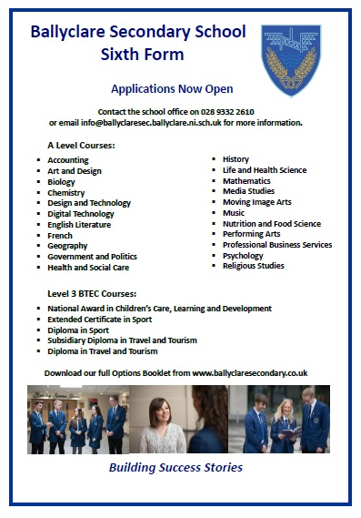 sisth-form-poster Sixth Form Application Forms In Barbados on