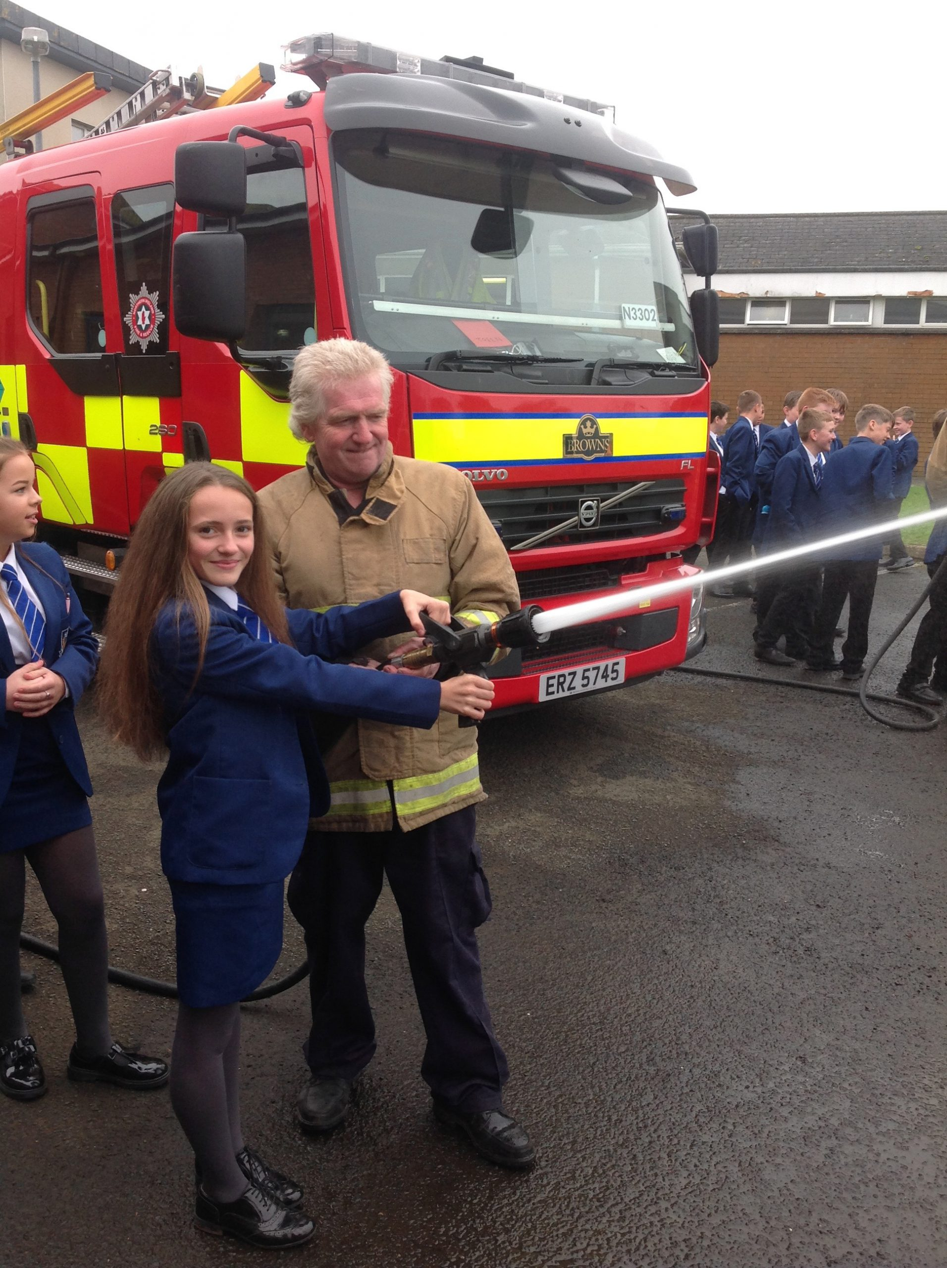 Year 8 Fire Safety Day