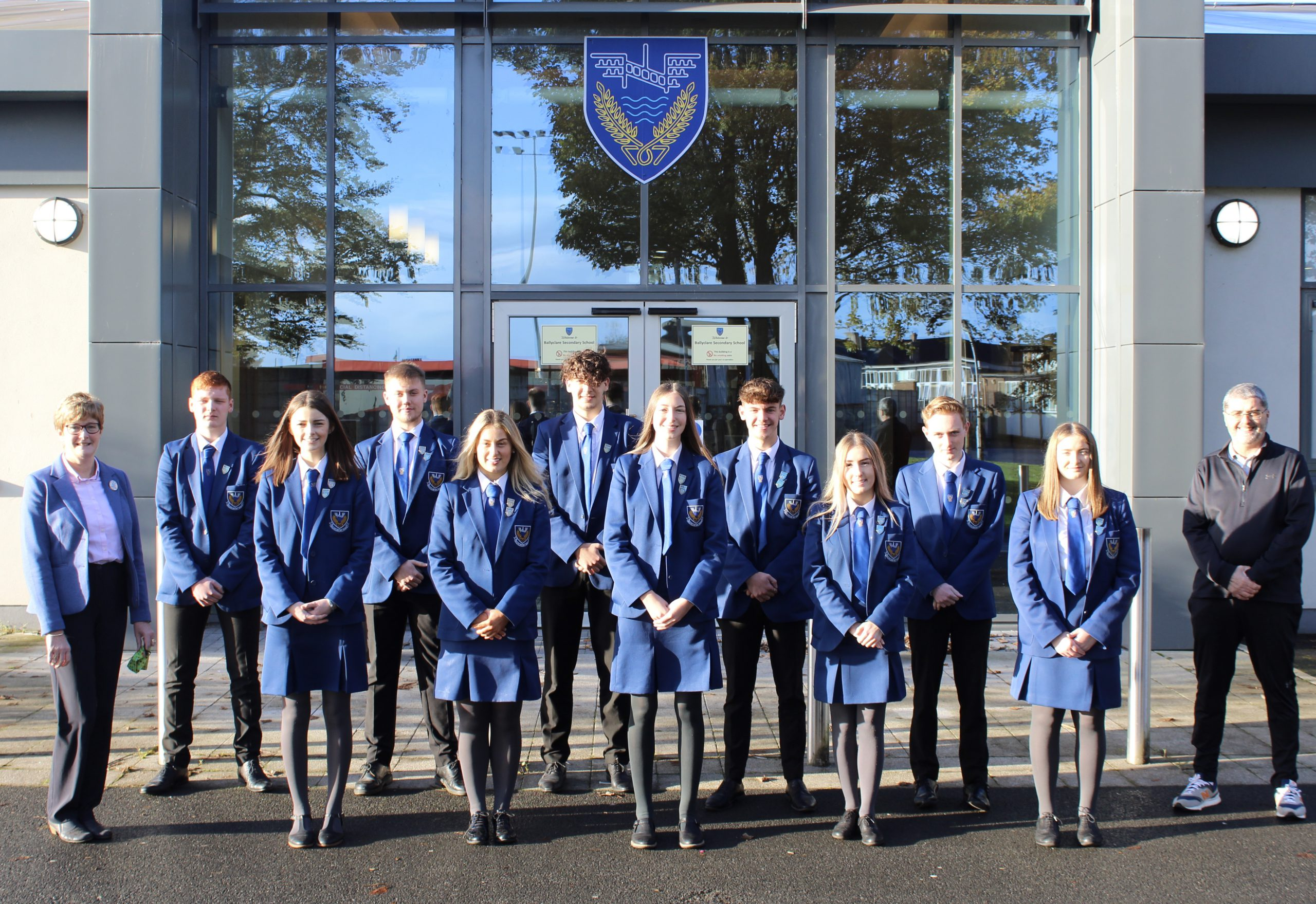 Head Boy, Head Girl and Senior Prefects 2020-21
