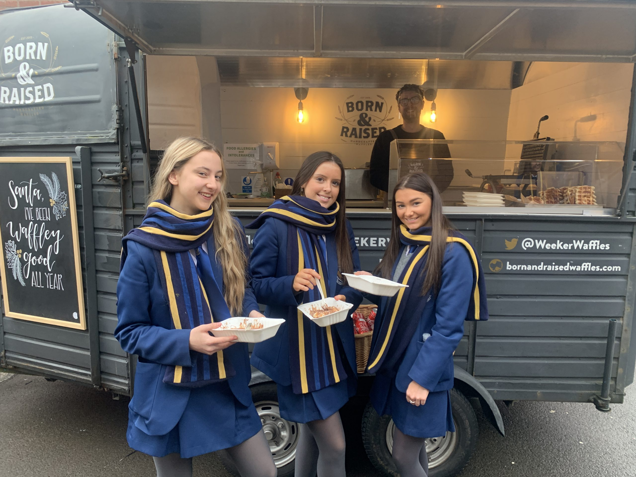 6th Form Crepe Day